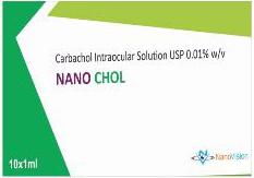 Nano Chol: Carbachol Intraocular solution USP 0.01% w/v