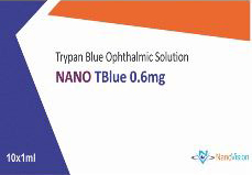 Nano TBlue: Trypan Blue Ophthalmic Solution