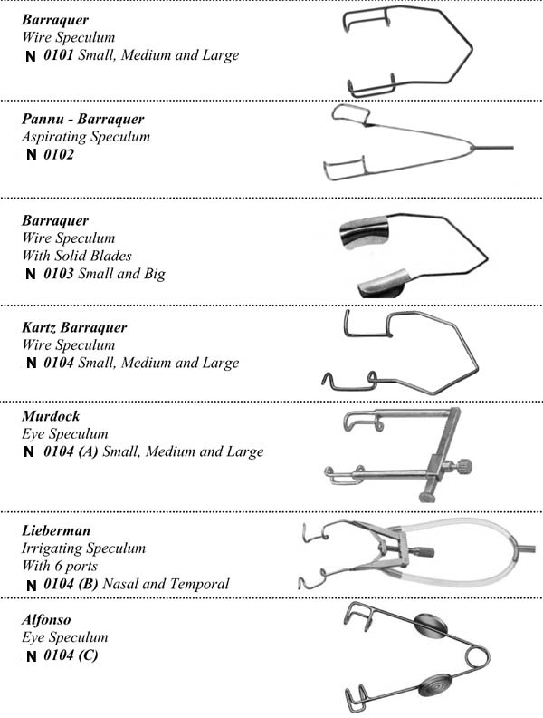 Ophthalmic Equipment,Ophthalmic surgical Instruments